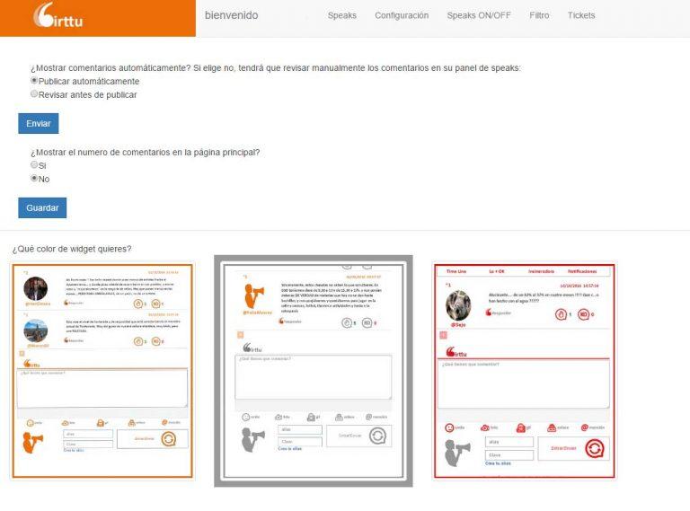 Nuevas aplicaciones en el Speak Panel